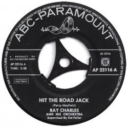 148. Ray Charles: Hit the road Jack.